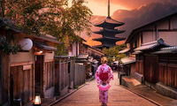 Sự xen kẽ thú vị giữa cuộc sống hiện đại và cổ kính ở Nhật Bản