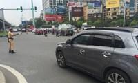 Tước hàng loạt phù hiệu Bộ Công an gắn trên ô tô tư nhân