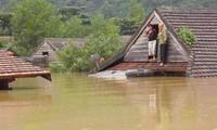 Huyện Quảng Trạch chìm trong biển nước