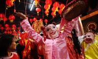 Châu Á rực rỡ trong ngày đầu năm mới