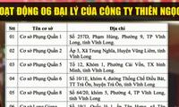 Vĩnh Long đình chỉ hoạt động 6 cơ sở của Thiên Ngọc Minh Uy