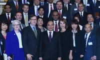 Đoàn doanh nghiệp hàng đầu Hoa Kỳ lớn nhất từ trước đến nay đã tới gặp Thủ tướng và tìm hiểu cơ hội đầu tư