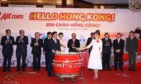 Vietjet mở đường bay đến Hồng Kông