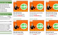 Khải Silk vừa công bố thương hiệu Phở Dính, tên miền Phodinh.com đã bị đăng ký, rao bán 10.000 USD