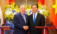 Nâng trao đổi thương mại Việt Nam-Israel lên 3 tỉ USD