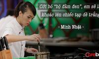 """Vua đầu bếp Minh Nhật: Cởi bỏ """"bộ đầm đen"""", em sẽ lại khoác lên chiếc tạp dề trắng"""
