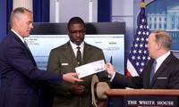 Tổng thống Donald Trump quyên góp toàn bộ lương quý I của mình