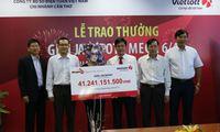 Nữ khách hàng thứ 4 của Vietlott nhận giải 41 tỷ đồng đúng ngày 8/3