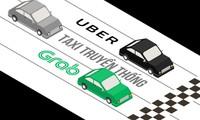 Grab, Uber triệt hạ nhau, người tiêu dùng cười tít mắt
