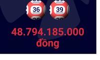 Đã xác định nơi bán vé số trúng gần 49 tỷ đồng ngày đầu năm