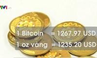 Giá Bitcoin lần đầu vượt giá vàng