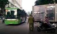 Tai nạn ở đường ưu tiên cho buýt BRT