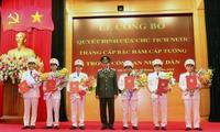 Chủ tịch nước thăng hàm cấp Tướng QĐND, CAND