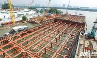 Hình ảnh mới nhất của công trình chống ngập 10.000 tỷ đồng ở TP.HCM