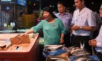 Lo ngại về chất lượng hàng hóa tại chợ đầu mối