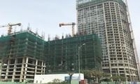 Cận cảnh dự án khách sạn 43 tầng xây không phép đến tầng thứ 9