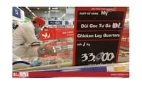 Thịt lợn, thịt gà siêu rẻ 20 nghìn đồng vẫn tràn về Việt Nam