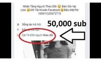 """Dân kinh doanh Like, Sub chú ý: Sắp tới dùng tài khoản Facebook """"ảo"""" có thể bị phạt tới 10 triệu đồng"""