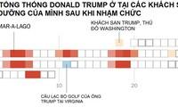 Những kỳ nghỉ cuối tuần tốn kém triệu USD của ông Trump