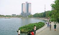 Chủ đầu tư Ecopark lên tiếng vụ lấp hồ Thành Công...để xây nhà tái định cư