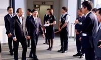 Thăm Mỹ, Thủ tướng Nguyễn Xuân Phúc quá cảnh Nhật Bản