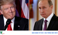 Tổng thống Mỹ Trump điện đàm với Tổng thống Nga Putin về Syria