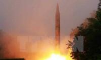 Quân đội Hàn Quốc xác nhận tên lửa Triều Tiên đã bay 450km
