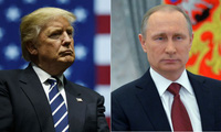Ông Trump sẽ gặp ông Putin trong chuyến công du nước ngoài đầu tiên