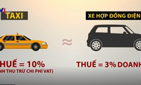 Nguy cơ thất thu thuế khi Uber chưa được cấp phép kinh doanh vận tải