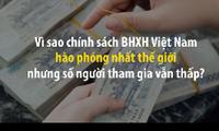 Vì sao chính sách BHXH Việt Nam hào phóng nhất thế giới nhưng số người tham gia vẫn thấp?