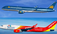 Tuổi đời bằng 1/10 nhưng hôm nay giá trị thị trường của Vietjet Air đã vượt qua Vietnam Airlines