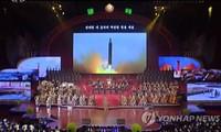 Triều Tiên công bố clip mô phỏng tấn công Mỹ trong 'Ngày Mặt trời'