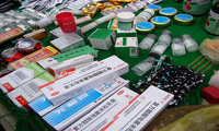 Hà Giang: Tiêu hủy trên 100 kg thuốc tân dược không rõ nguồn gốc