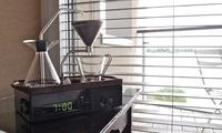 Đồng hồ báo thức bằng hương cà phê