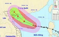 Bão số 7 cáchHoàng Sa 220km, gió giật cấp 16
