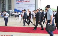 Hình ảnh trước giờ khai mạc Hội nghị Thủ tướng với doanh nghiệp 2017