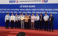 APT bàn giao lô xe cứu thương trị gía 55 tỷ cho Bộ Y tế