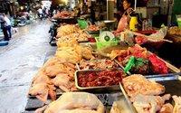 Giá thực phẩm ngày giáp Tết ổn định