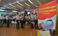 Nhiều cơ hội trở thành tiếp viên hàng không của Vietjet