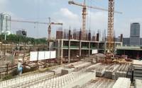 Tiến độ hàng loạt dự án có giá khoảng 20 triệu đồng/m2