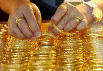 Đầu tuần, giá vàng quay đầu giảm nhẹ