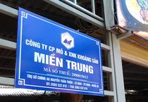 Dấu hiệu cung cấp thông tin sai sự thật của Công ty mỏ và XNK khoáng sản miền Trung