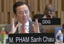 [Video]: Đại sứ Phạm Sanh Châu trả lời phỏng vấn cho vị trí Tổng Giám đốc UNESCO