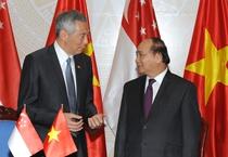 Thủ tướng Nguyễn Xuân Phúc hội đàm với Thủ tướng Singapore Lý Hiển Long
