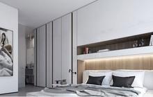 Phòng ngủ màu trắng nhẹ nhàng và thư giãn