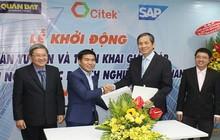 Quân Đạt và CITEK ký kết và khởi động dự án triển khai giải pháp quản trị tổng thể nguồn lực doanh nghiệp SAP S/4HANA