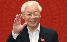 Tổng Bí thư, Chủ tịch nước Nguyễn Phú Trọng đang làm lễ tuyên thệ