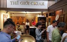QLTT Hà Nội kiểm tra một loạt cửa hàng, thu giữ nhiều cigar không có hoá đơn chứng từ
