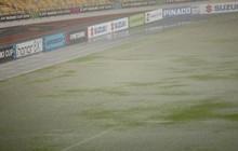 """Sân vận động Bukit Jalil đang ngập vì mưa lớn, đội tuyển Việt Nam có khả năng phải """"thủy chiến"""" với Malaysia"""