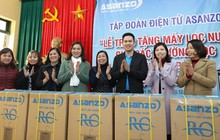 Tập đoàn điện tử Việt trao tặng máy lọc nước cho quê nhà cầu thủ Quang Hải